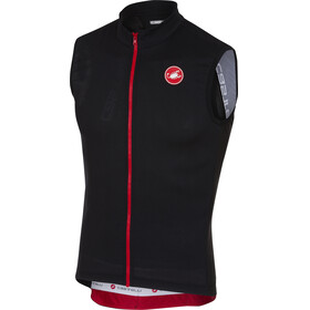 Castelli Entrata 3 FZ Sleeveless Jersey Men light black